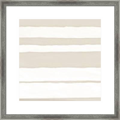 Strips 2a Framed Print by Menega Sabidussi
