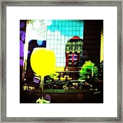Summertime Downtown Lexington  Framed Print by Rachel Maynard