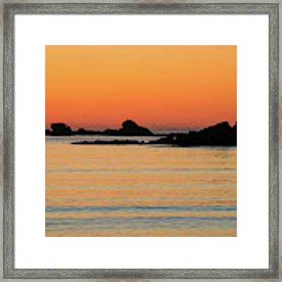 Sunset Over Sunset Bay, Oregon 5 Framed Print by Dawn Richards