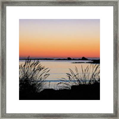 Sunset Over Sunset Bay, Oregon 6 Framed Print by Dawn Richards