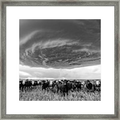 Texas Panhandle Meso Framed Print by Scott Cordell