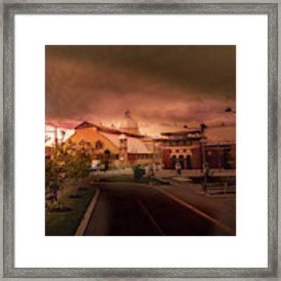 The Aberdeen Pavilion Built In 1898 Is The Centrepiece Of Ottawa's Lansdowne Park. Framed Print by Juan Contreras