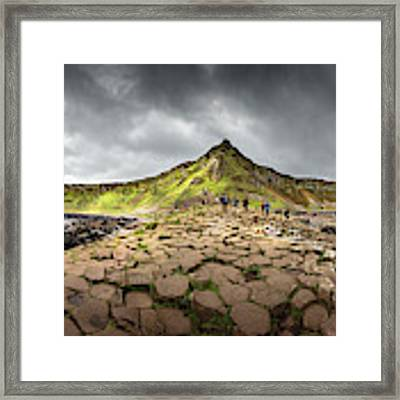 The Giants Causeway Framed Print by Chris Cousins