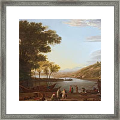 The Harbor Framed Print by Said Marie