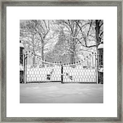 The North Gates Framed Print by Kendall McKernon
