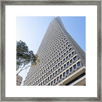 Transamerica Pyramid San Francisco R738 Sq Framed Print by Wingsdomain Art and Photography