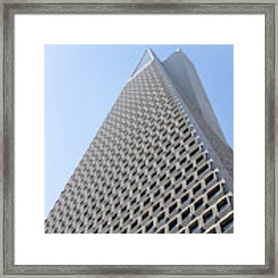 Transamerica Pyramid San Francisco R740 Sq Framed Print by Wingsdomain Art and Photography