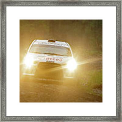 Wales Rally 2016 Framed Print by Elliott Coleman