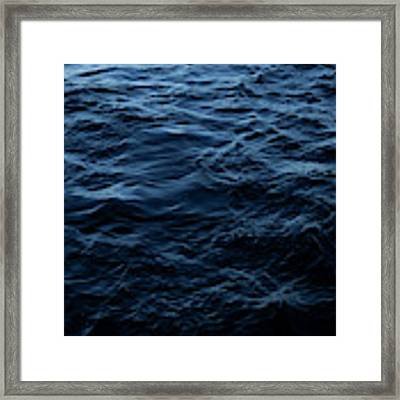 Water Framed Print by Eric Christopher Jackson