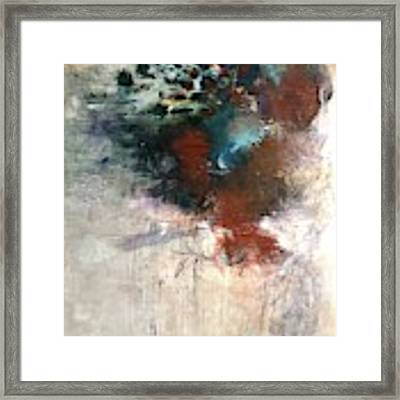 What's In A Name Framed Print by Laurie Maves ART