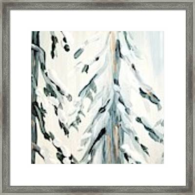 Winter Trees #4 Framed Print by Maria Langgle