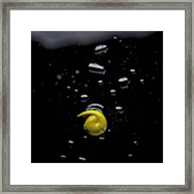 Yellow Framed Print by Eric Christopher Jackson