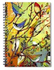 Bird Spiral Notebooks