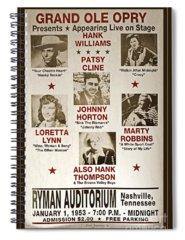 Ryman Auditorium Photographs Spiral Notebooks