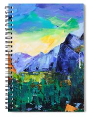 Merced River Paintings Spiral Notebooks