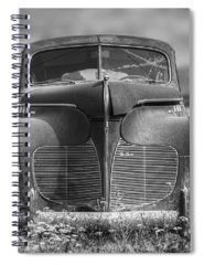 Abandoned Car Spiral Notebooks