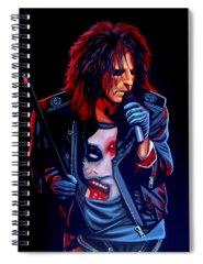 Alice Cooper Spiral Notebooks