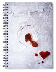 Hearties Photographs Spiral Notebooks