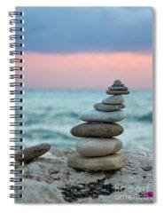 Stones Spiral Notebooks