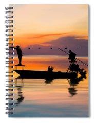 Boating Spiral Notebooks