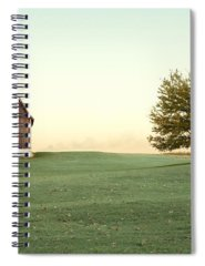 Old Red Barn Spiral Notebooks