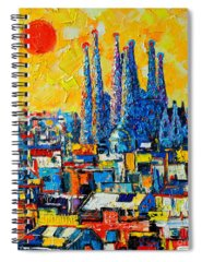 Barcelona Paintings Spiral Notebooks