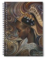 African Spiral Notebooks