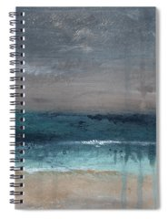 Abstract Landscape Paintings Spiral Notebooks