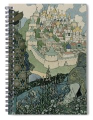 Childrens Illustration Drawings Spiral Notebooks