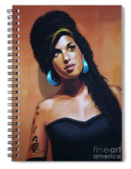 Heroin Paintings Spiral Notebooks