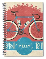 Bicycle Spiral Notebooks