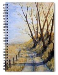 Tall Grass Prairie Paintings Spiral Notebooks