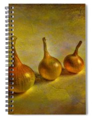 Onion Photographs Spiral Notebooks