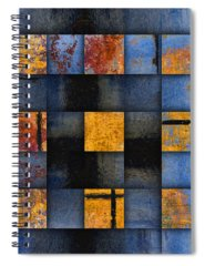 Vibrant Abstract Spiral Notebooks