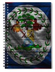 Belize Photographs Spiral Notebooks