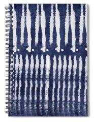 Shibori Spiral Notebooks