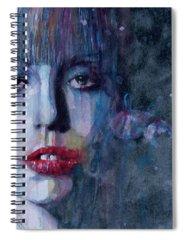 Lady Gaga Spiral Notebooks