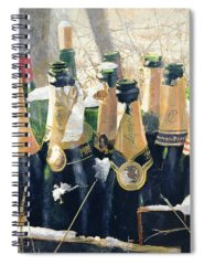 Champers Spiral Notebooks