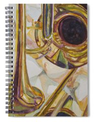 Trombone Spiral Notebooks
