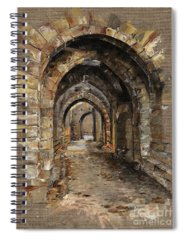 Castle Spiral Notebooks