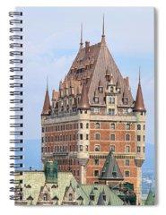 Quebec City Photographs Spiral Notebooks
