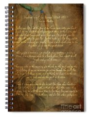 Poem Spiral Notebooks