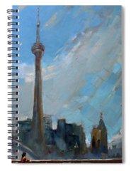 Cn Tower Spiral Notebooks