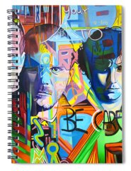 Coldplay Spiral Notebooks