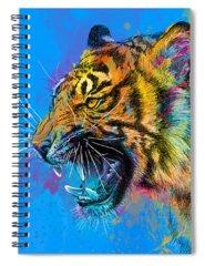 Vibrant Spiral Notebooks