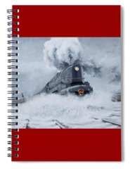 Train Spiral Notebooks