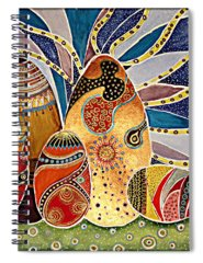 Alleluja Paintings Spiral Notebooks