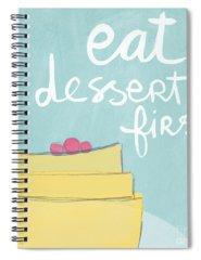 Eat Spiral Notebooks