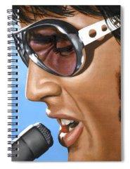 Elvis Spiral Notebooks