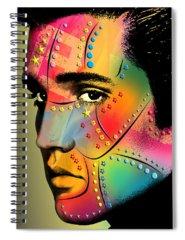 Music Rock Elvis Presley Spiral Notebooks